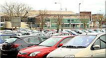 J5081 : Park and ride car park, Bangor by Albert Bridge