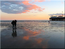 TQ3103 : Photographing the Sunset by Simon Carey