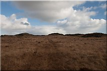 NR4250 : Approaching the forts, near Tighnaspeur and Loch nan Clach, Islay by Becky Williamson