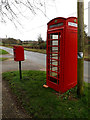 TM2499 : Telephone Box & The Street Postbox by Adrian Cable