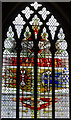 SK9136 : Pinchbeck Window, St Wulfram's church, Grantham by Julian P Guffogg