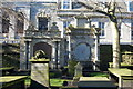 NJ9406 : Memorials, St Nicholas Kirkyard by Bill Harrison