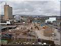 ST3188 : Newport: looking across the old bus station site by Chris Downer