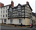 SO5174 : Black and white upper storeys, Ludlow by Jaggery