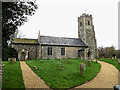 TM2499 : St.Mary's Church, Shotesham by Adrian Cable