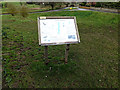 TM2499 : Shotesham Common Information Board by Adrian Cable
