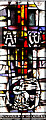 NZ2464 : Ascension window, Newcastle Cathedral by William Starkey