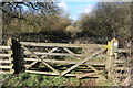 SO9400 : Gate on the Macmillan Way by Philip Halling