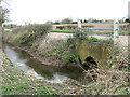 TM1399 : Culvert under Bridge Road by Evelyn Simak
