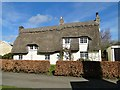 TL2664 : Thatched Cottage in Papworth St. Agnes by Adrian S Pye