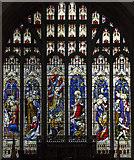 SK7953 : East window, north aisle, St Mary's Magdalene church, Newark by J.Hannan-Briggs