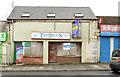 J5976 : Vacant shops, Millisle (March 2014) by Albert Bridge