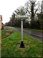 TG3000 : Bergh Apton (Beorh Apetune) Village sign by Adrian Cable