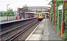 TQ2262 : Ewell East station, 1991 by Ben Brooksbank