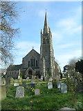 TQ4094 : St John's Church, Buckhurst Hill by John Lord