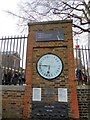 TQ3877 : Shepherds Gate Clock Royal Observatory, Greenwich by Paul Gillett