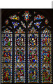 TL5480 : Parables stained glass window, Ely Cathedral by Julian P Guffogg