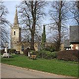 SK8707 : Egleton: St Edmund by John Sutton