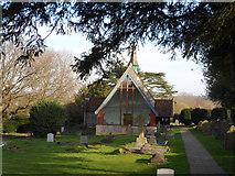 TL0106 : St John the Evangelist, Bourne End by Bikeboy