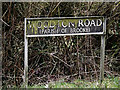TM2797 : Woodton Road sign by Adrian Cable