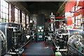 SD8746 : Bancroft Mill - steam engine by Chris Allen