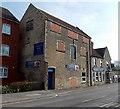 ST8651 : Bricked-up windows, The Railway Inn, Westbury by Jaggery