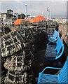 SX8960 : Lobster pots, Paignton by Derek Harper