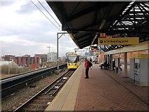 SJ8297 : Cornbrook Metrolink Station by David Dixon
