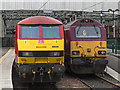 NT2673 : Locomotives at Waverley Station by William Starkey