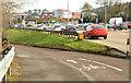 J3876 : Cycle lanes and subways, Sydenham bypass, Tillysburn, Belfast - March 2014(5) by Albert Bridge