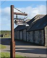NT9438 : Sign at Hay Farm Ford. by David Clark