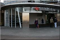 TQ3180 : Blackfriars Railway Station by Peter Trimming
