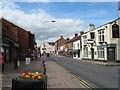 SJ6552 : The beam in Beam Street, Nantwich-Cheshire by Martin Richard Phelan