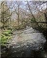 SX4574 : River Lumburn by Derek Harper
