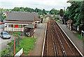 SU8757 : Frimley Station, 1991 by Ben Brooksbank
