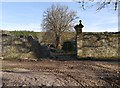 NH5241 : Damaged entrance, Belladrum walled garden by Craig Wallace