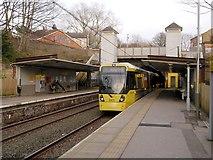 SD8203 : Tram at Heaton Park Station by David Dixon