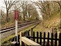 SD7914 : Chest Wheel Crossing, East Lancashire Railway by David Dixon