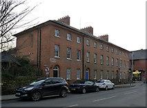 SK8508 : Jermyn Terrace, High Street by Alan Murray-Rust