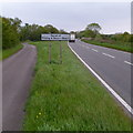 ST5687 : Pilning & Severn Beach parish boundary marker by Jaggery