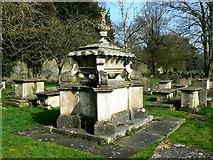 SP0202 : Sarcophagus, St John the Baptist Church, Cirencester by Brian Robert Marshall