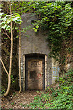 SN5981 : Tunnel entrance, National Library of Wales by Ian Capper