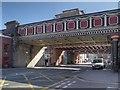 SJ8398 : Northern Railway Viaduct, Salford by David Dixon