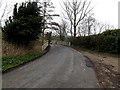 TM3492 : Loddon Road sign by Adrian Cable