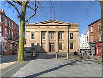 SJ8298 : Former Salford Town Hall, Bexley Square by David Dixon