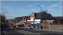 TQ4375 : Former railway station at Eltham Park by Malc McDonald