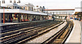 TQ6474 : Gravesend Central Station, 1995 by Ben Brooksbank