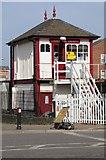 SK8508 : Signal box at Oakham by Philip Halling