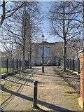 SJ8298 : The Path to St Philip's Church by David Dixon