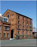 SO9098 : Brewery building in Wolverhampton by Roger  Kidd